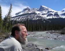 Root at CSEE, Banff National Park. 2011 May 14 (photo: Sue Bertram)
